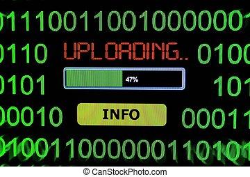 Upload information