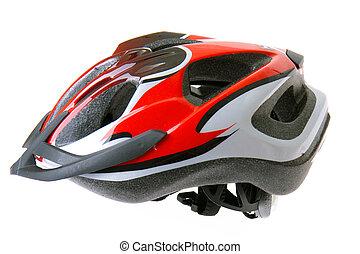 bicicleta, capacete
