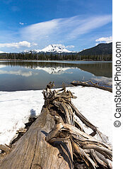 Broken Top from Sparks Lake
