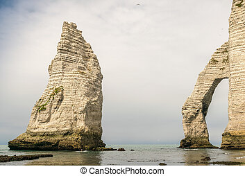 Etretat, Normandy - France.