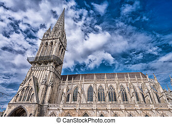 Church of Saint Pierre, Caen.