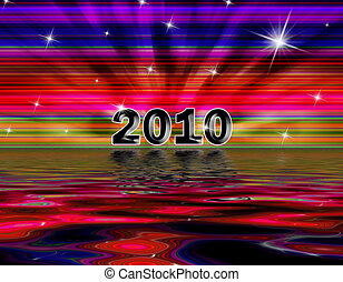 2020 Graphic - Presenting 2010 graphic loaded with colors,...