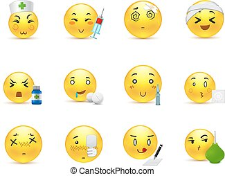 Anime emoticons doctor - Funny and beautiful anime smiles in...