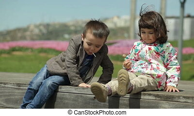 boy wants to sit next to a girl