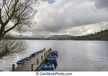 Lake Windermere - A beautiful landscape of Lake Windermere...