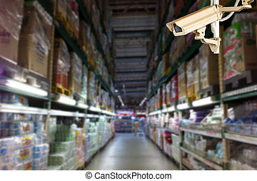 CCTV for record everthing inside building for protect...