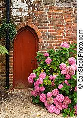 Garden Doorway - Small garden doorway tucked away in a...