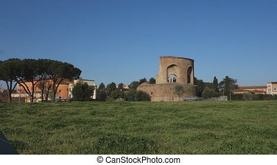 Mausoleum of Helena - ancient Roman tomb in tor Pignattara,...