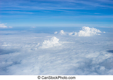 sky cloud - Blue sky and clouds abstract