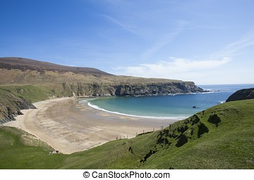 The Silver Strand Beach in Donegal - The Silver Strand beach...