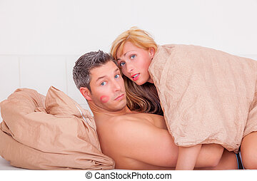 problem - couple while having sexual activities