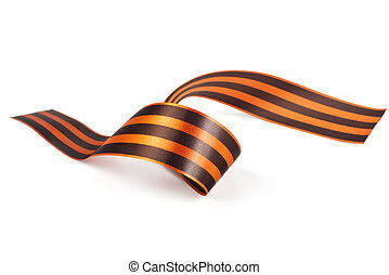St George Ribbon symbol of the Soviet victory over Nazi...
