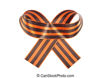 St. George Ribbon symbol of the Soviet victory over Nazi...