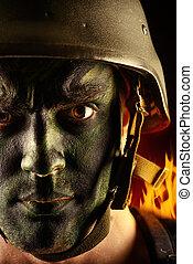 infantería,