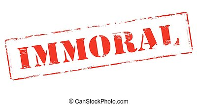 Immortal - Rubber stamp with word immortal inside, vector...