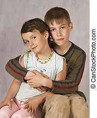 Brother\'s hugs