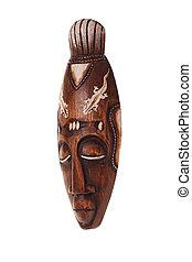 Polynesian mask - Polynesian traditional mask three-quarters