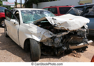 Car Wreck - Three car wreck totaled this vehicle, Two of the...
