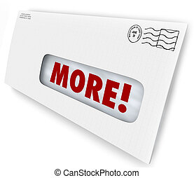 More Word Envelope Increase Improve Results Marketing...