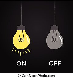 on and off bulb electric