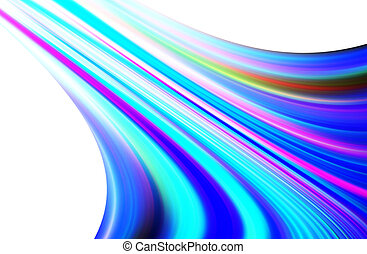 Blue background - abstract blue background and digital wave...
