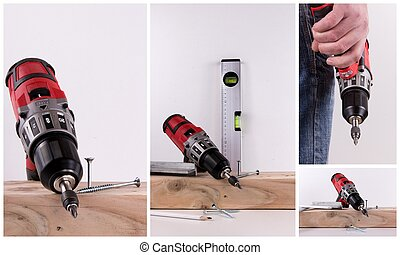collage cordless screwdriver