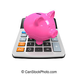 Calculator Piggy Bank