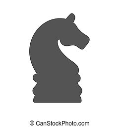 Chess Piece - Bishop, chess, chess board, knight icon vector...