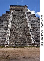 Escaleras,  quetzalcoatl