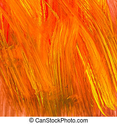 Abstract acrylic painted background,colorful paint on paper background