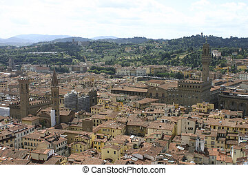 Firenze - Some of interest buildings and views in Firenze,...