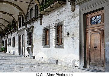 detalhes, Renascimento, arquitetura