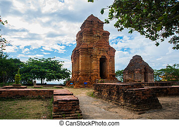 Thap Poshanu Towers - Asia VietnamPhan Thiet Old and ancient...