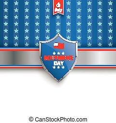4th July Protection Shield Stars Stripes cover