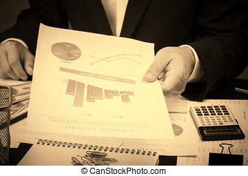 Man Analysis Business and financial report