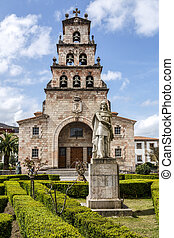Church of the Assumption of Cangas de Onis and Pelayo -...