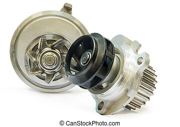Water pump - The water pump for cooling the engine of the...