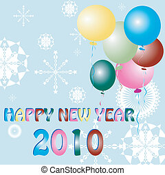 New Year celebration card - Happy New Year celebration card...