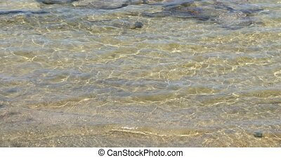 Clear water of Cyprus lake, Canada - Clear water in Cyprus...