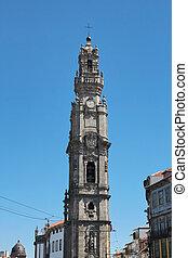 """Porto, Portugal: Torre dos Clerigos (""""The Clergy Tower""""),..."""