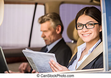 Personal attendant travel assistant mature