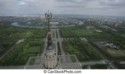Moscow State University named after Mikhail Lomonosov,...