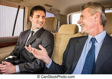 reunión, Hombres de negocios
