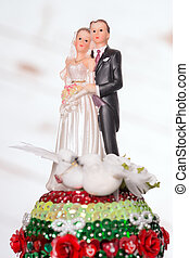 Wedding - Model of a wedding couple