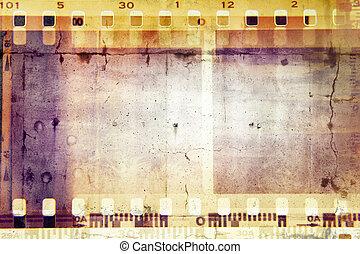 Film frames - Film negative frames background