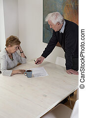 Signing divorce documents