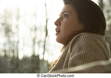 Treatment of mental disorders - Young women with mental...