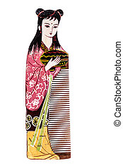 Chinese comb - The Changzhou comb is a type of hand-painted...