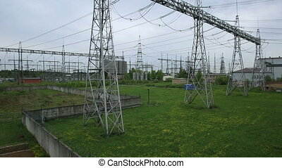 Power station for making Electricity - Power station for...