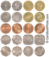 sri lankan rupee coins collection set - sri lankan rupee...
